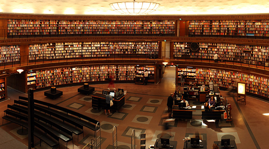 Ode To Libraries Feature
