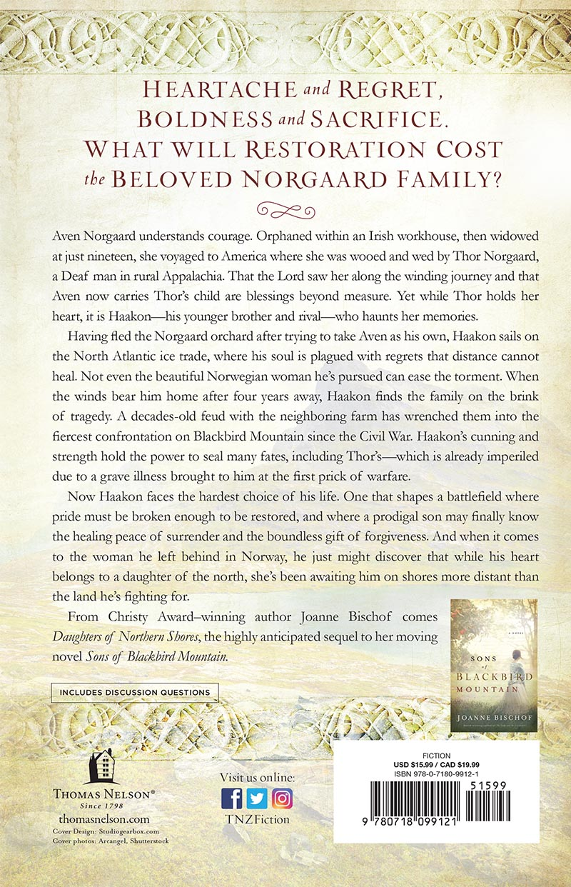Daughters Of Norther Shores Back Cover