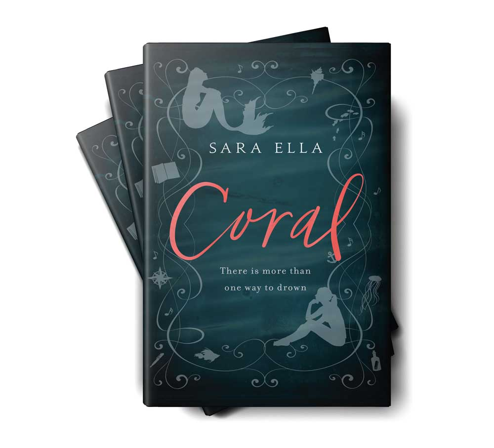 Coral by Sara Ella stacked