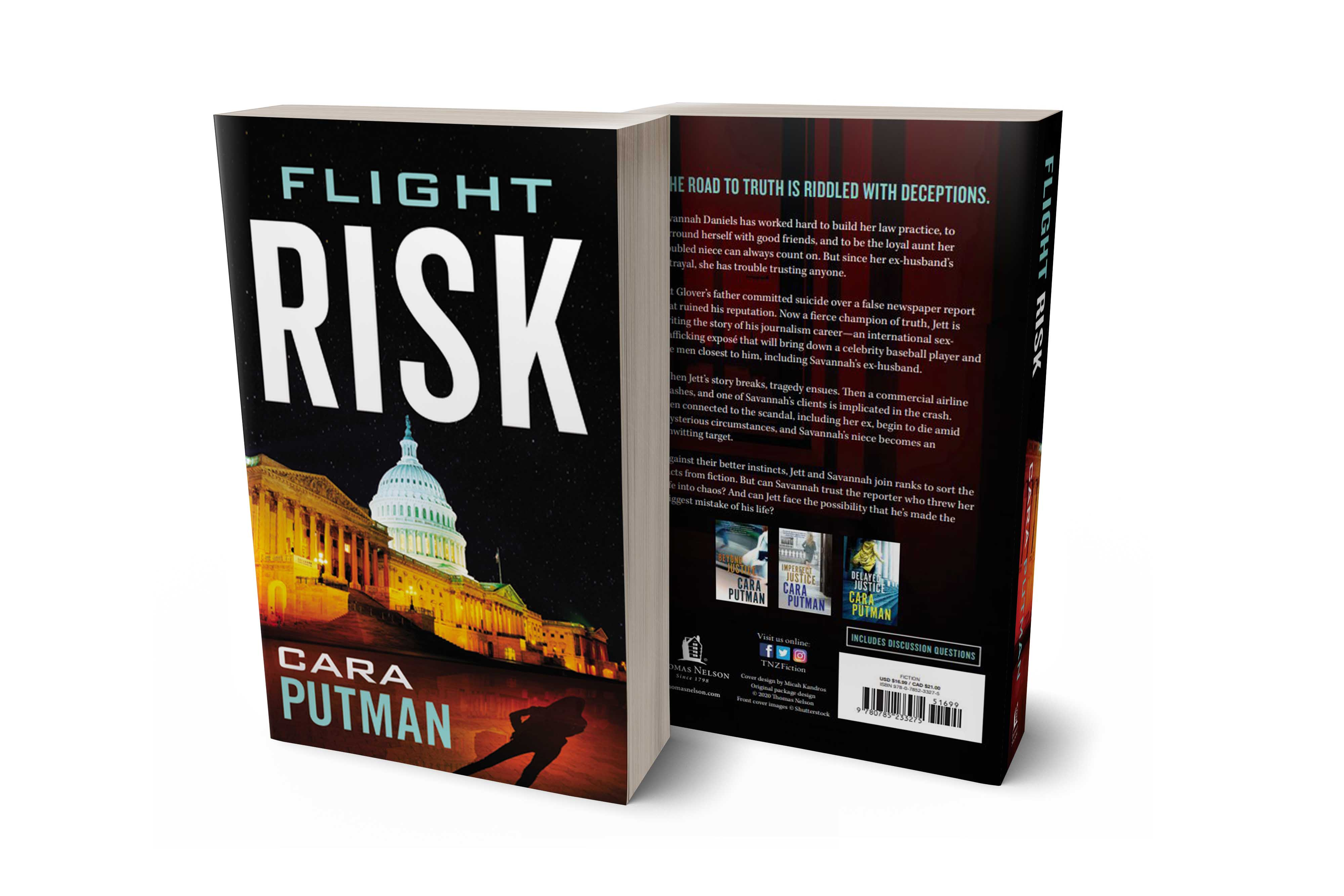 Flight Risk front and back covers